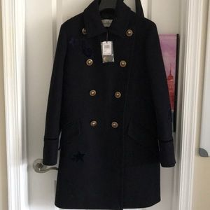 Coach wool coat new with tags
